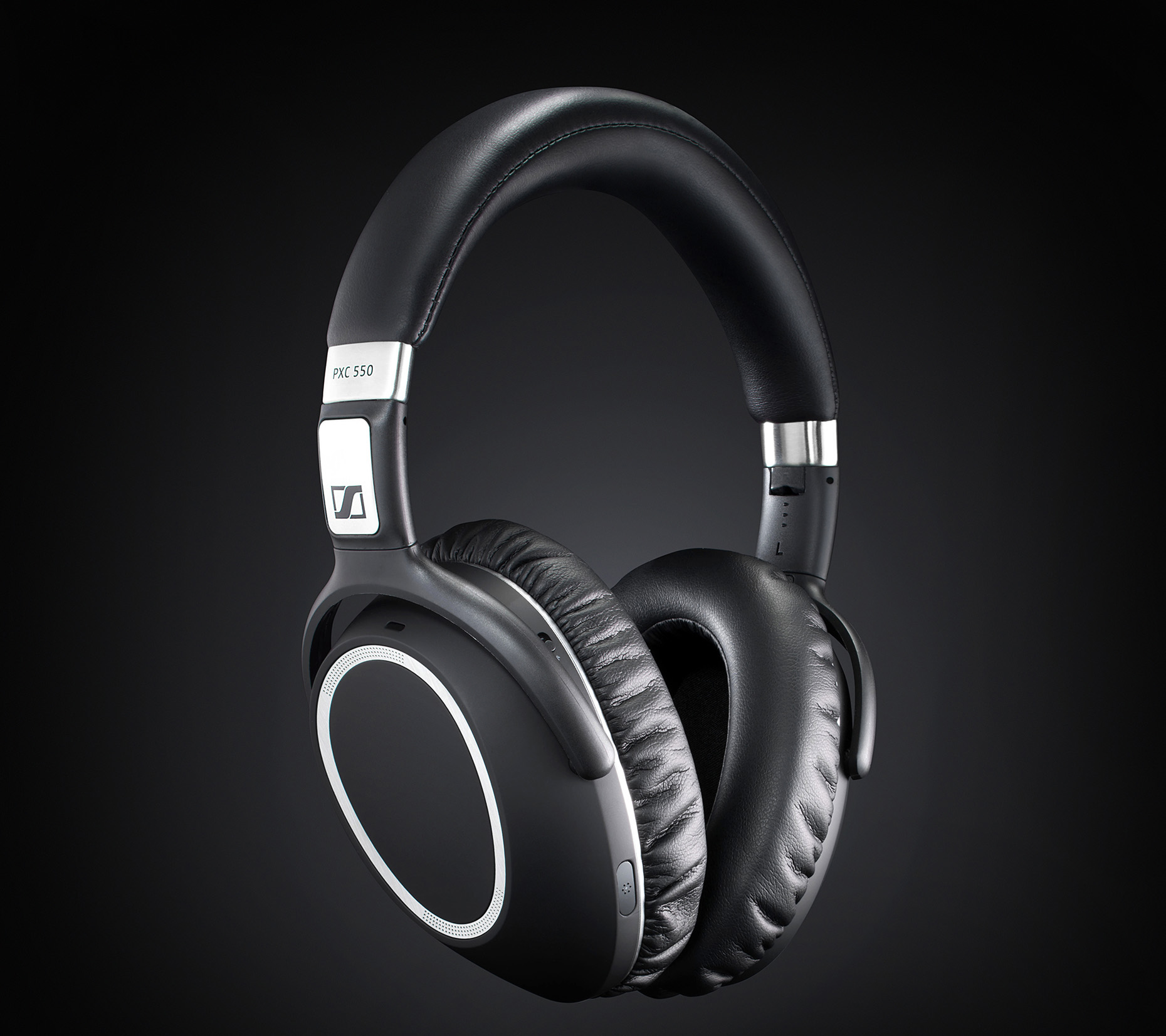 New-york-luxury-still-life-photography-Pro-headphones-on-black-