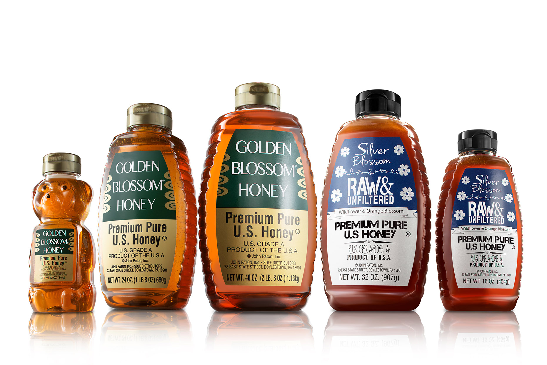 new-york-food-photographer-food-packaging-golden-blossom-honey-family-group